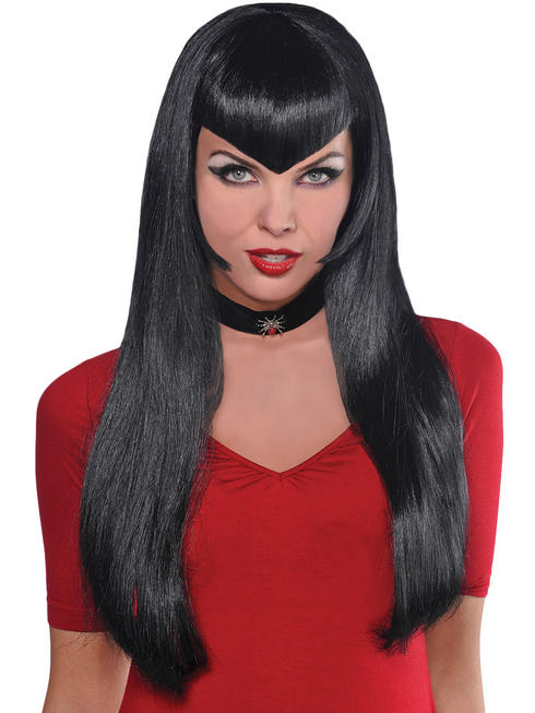Ladies Black Deadly Beauty Wig