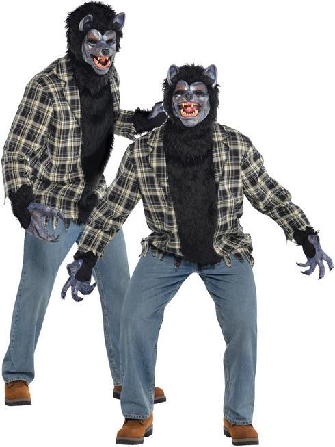 Men's Rabid Wolf Costume