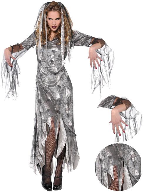Ladies Graveyard Zombie Costume