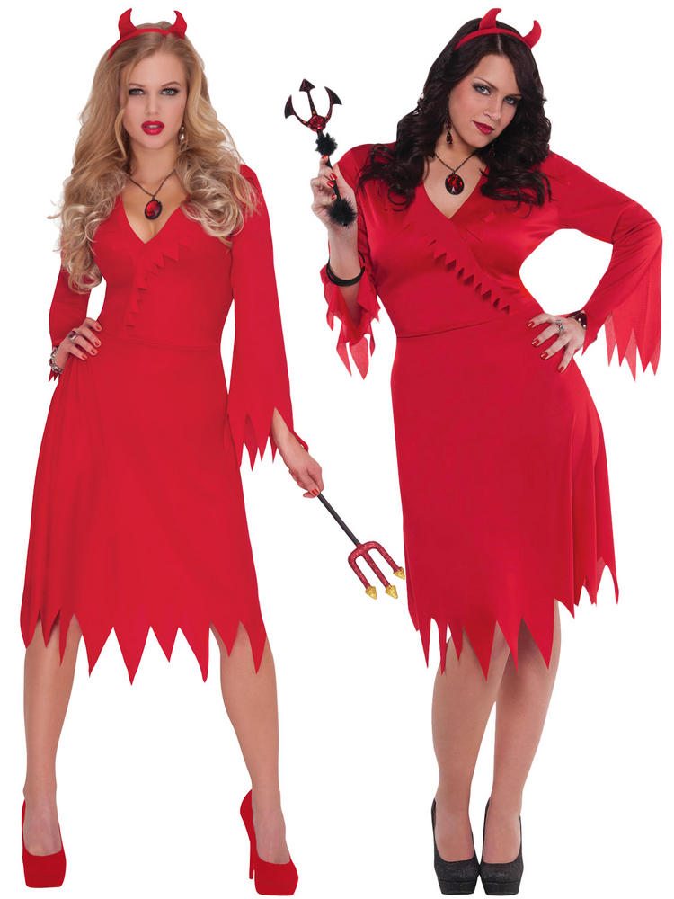 Ladies Red Hot Devil Costume