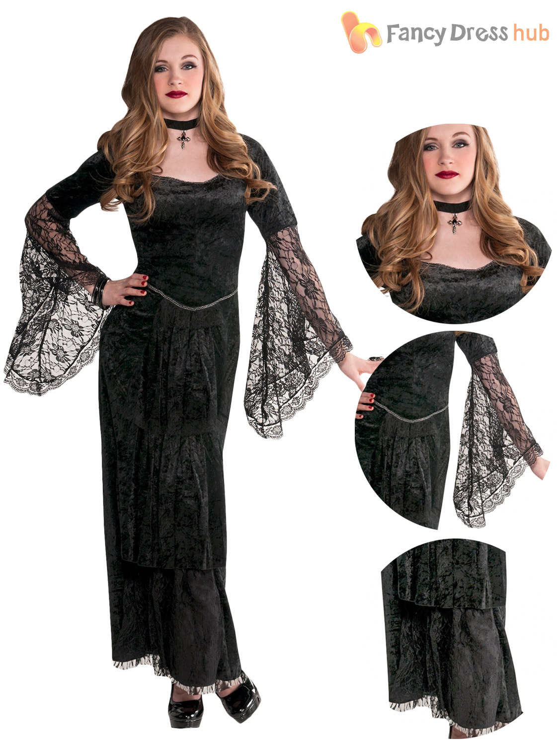 Can find costume goth halloween teen assured