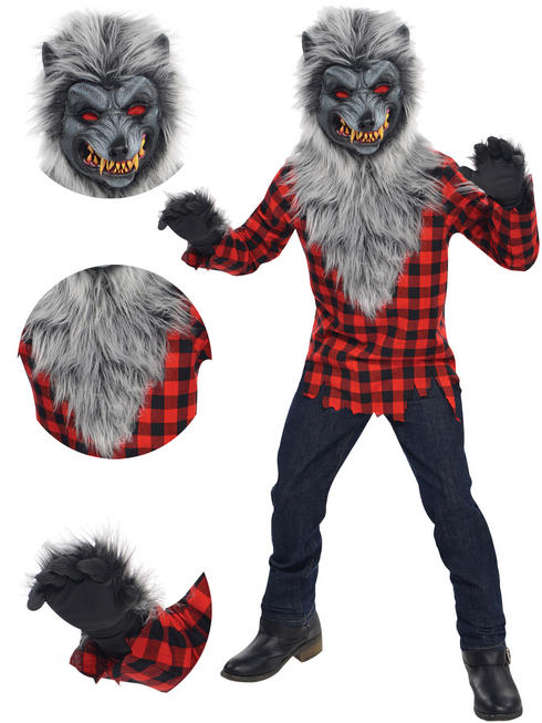 Boy's Teen Hungry Howler Costume