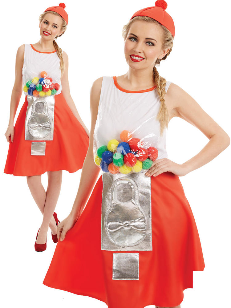 Ladies Gumball Dress Costume