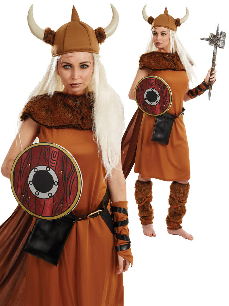 Ladies Viking Lady Costume