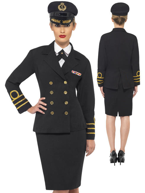Ladies Navy Officer Costume