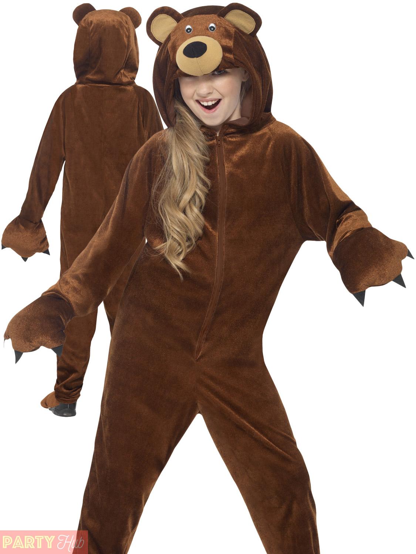 Childrens-Panda-Bear-Costume-Boys-Girls-Animal-Fancy-  sc 1 st  eBay & Childrens Panda Bear Costume Boys Girls Animal Fancy Dress Book Week ...