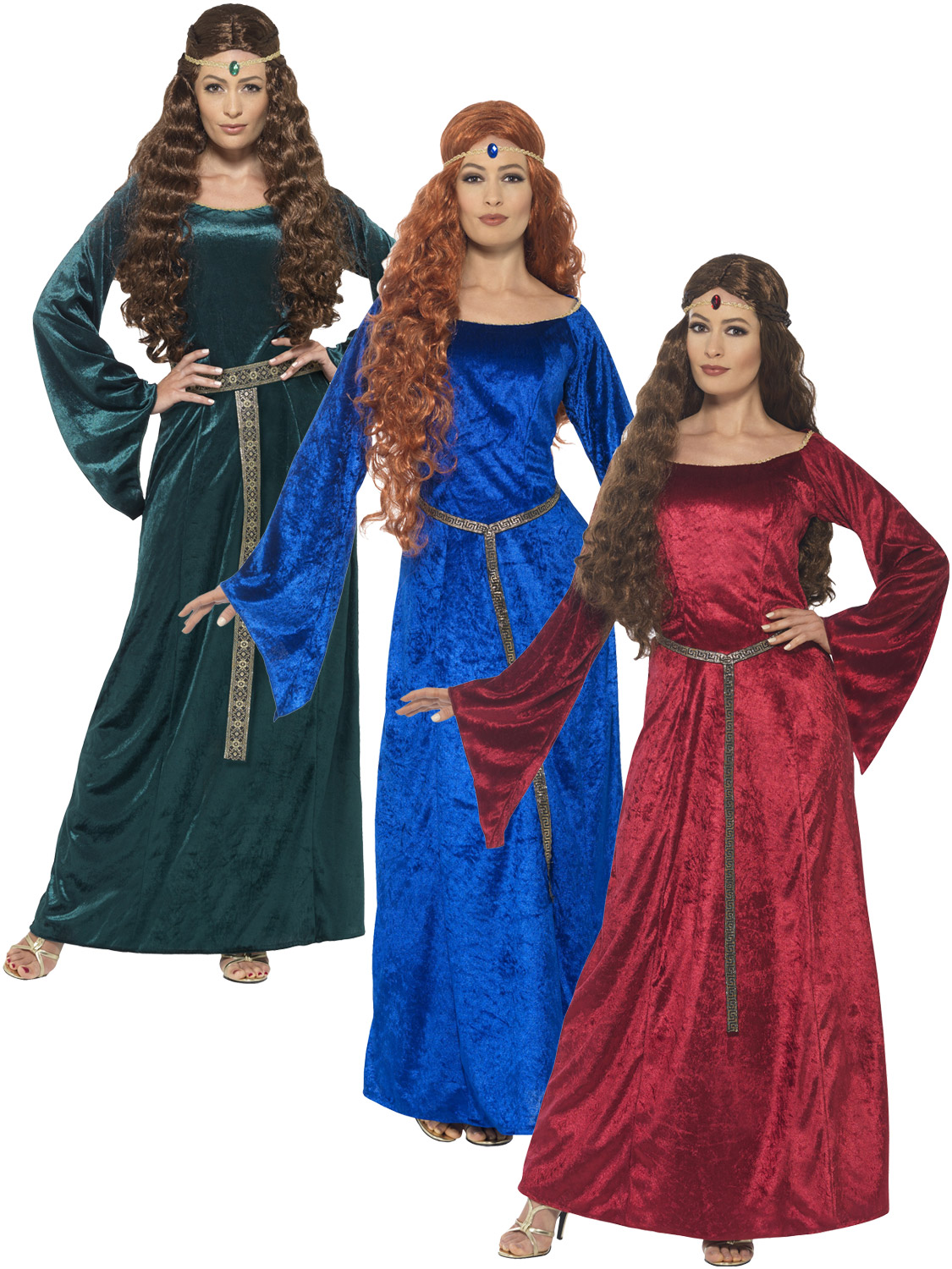 Ladies medieval maid costume adults robin hood maiden fancy dress transform yourself in an medieval maiden with this ladies fancy dress costume ideal if you are going to a medieval themed party solutioingenieria Choice Image