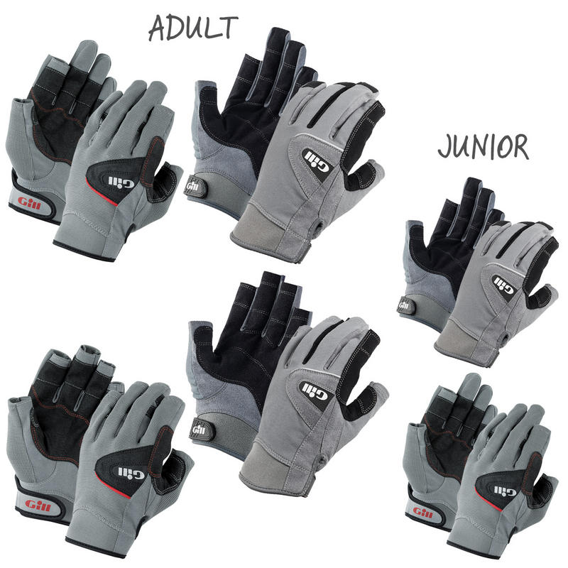 Gill Deck Hand Gloves - Short or Long Finger