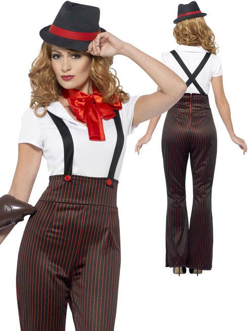 Ladies Gangster Glam Costume