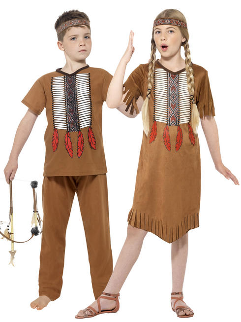 Kids Native Indian Costume