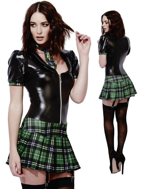 Ladies Fever Miss Behave Schoolgirl Costume