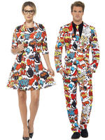 Adults Comic Strip Stand Out Suit