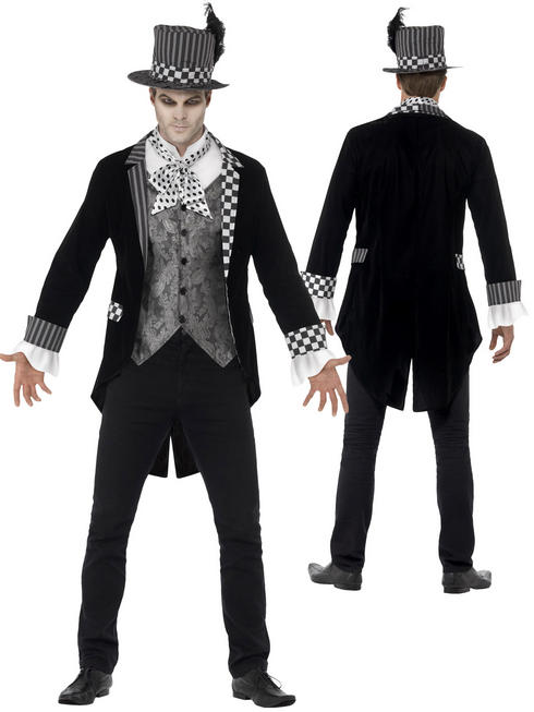 Adult's Deluxe Dark Hatter Costume
