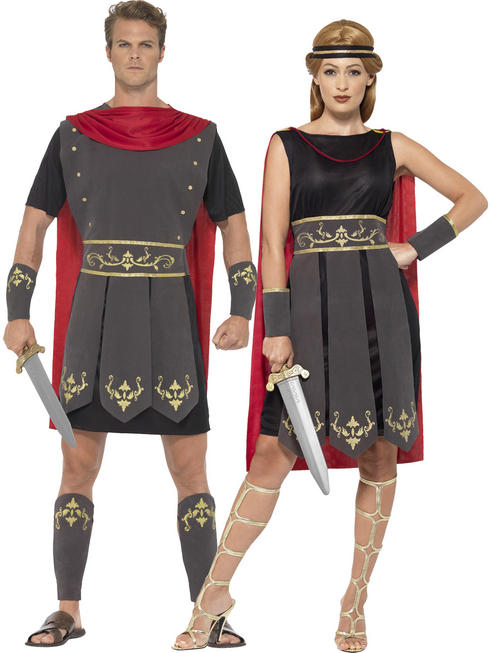 Adults Roman Gladiator Warrior Costume