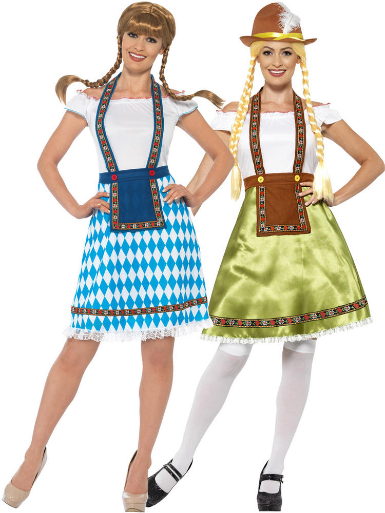 Ladies Bavarian Maid Costume