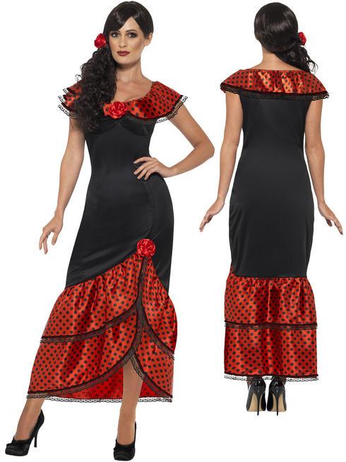 Ladies Flamenco Senorita Costume