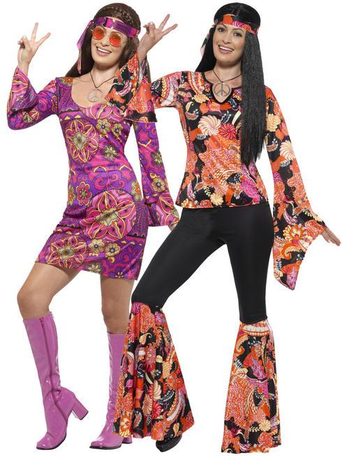 Ladies Willow The Hippie Costume