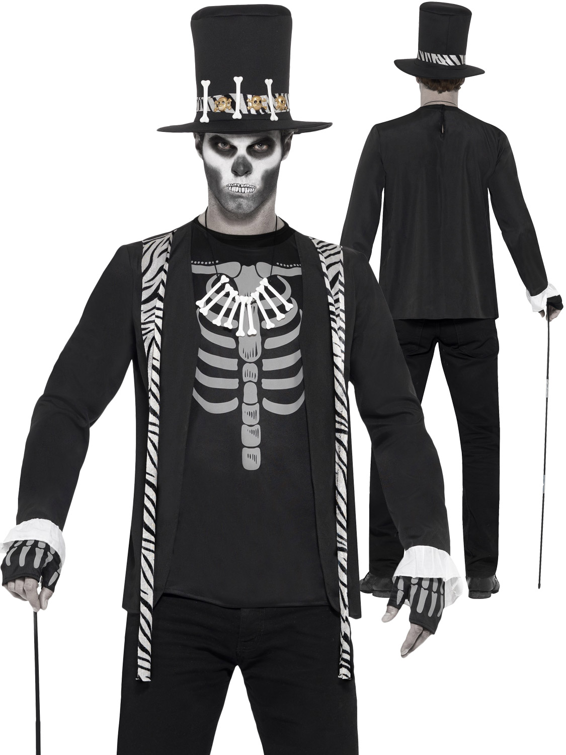 Men's Witch Doctor Costume | All Halloween | Fancy Dress Hub