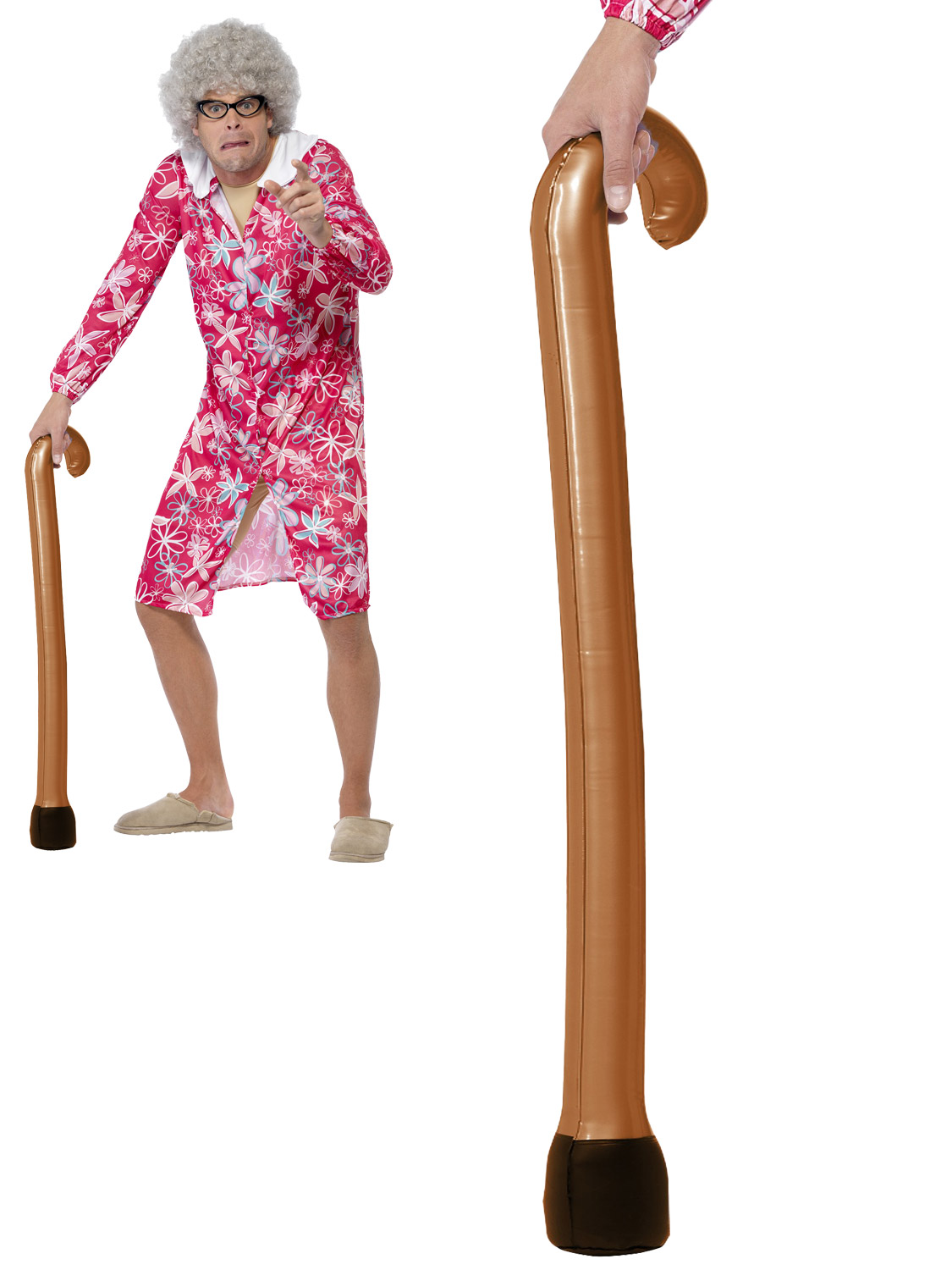 Inflatable Zimmer Frame Blow Up Fancy Dress Accessory Old Oap Hen Stag Party Toy