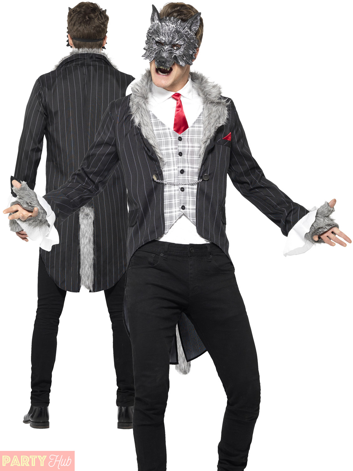Big Bad Wolf Costume men's Halloween outfit PpGaIet8D