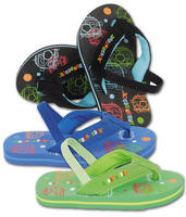 Kid's Urban Beach Bubble Bus Flip Flops