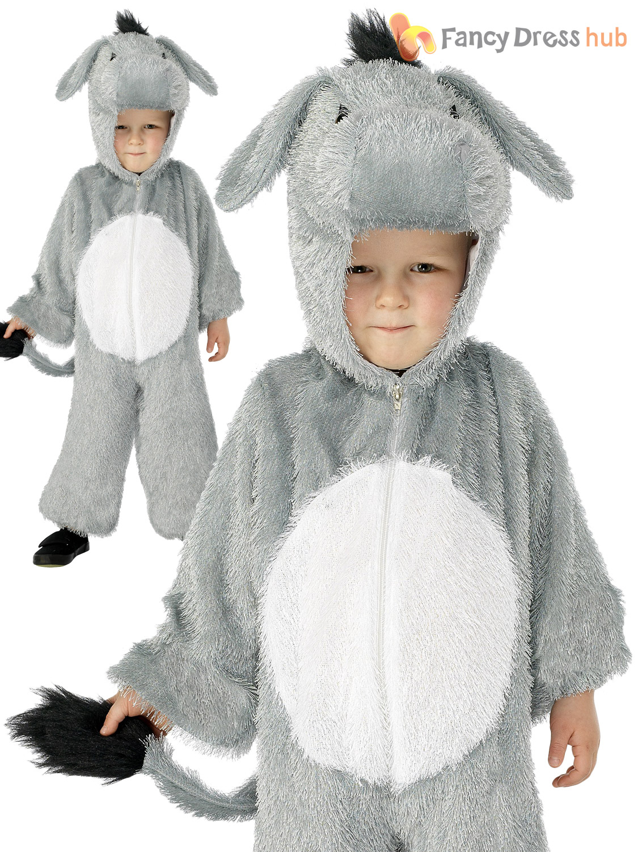 Kids-Animal-Costume-Christmas-Camel-Sheep-Donkey-Nativity-Fancy-Dress-Girls-Boys