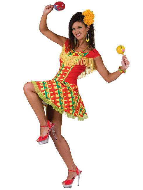 Hot Mexican Lady Costume