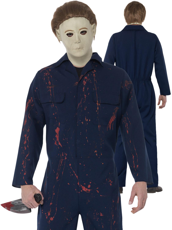 Halloween Michael Myers Costume.Men S Halloween Michael Myers Costume