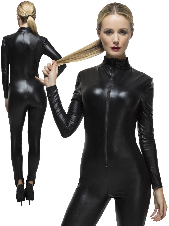 bondage kläder cat suit