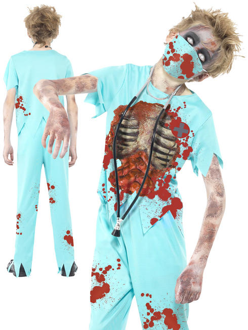 Boy's Zombie Surgeon Costume