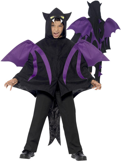 Childs Hooded Creature Cape
