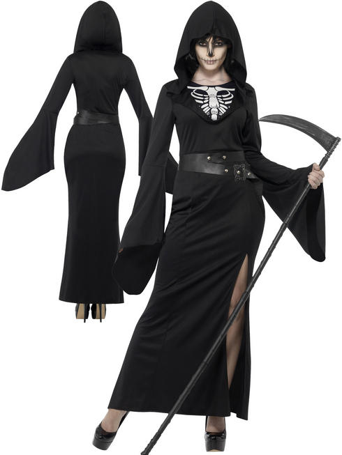 Ladies Lady Reaper Costume
