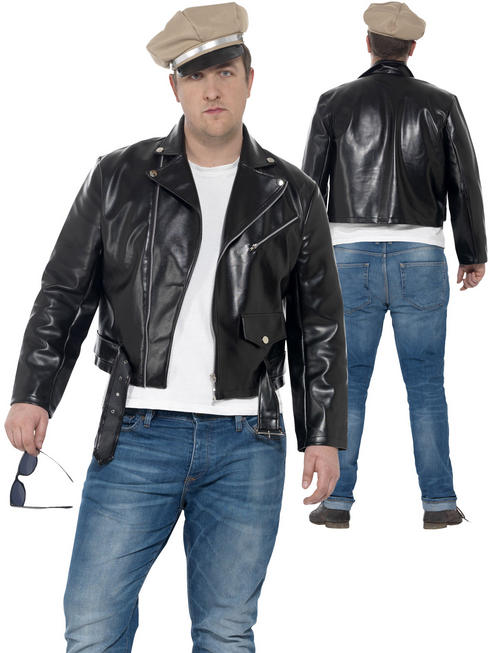 Men's Curves 50's Rebel Costume