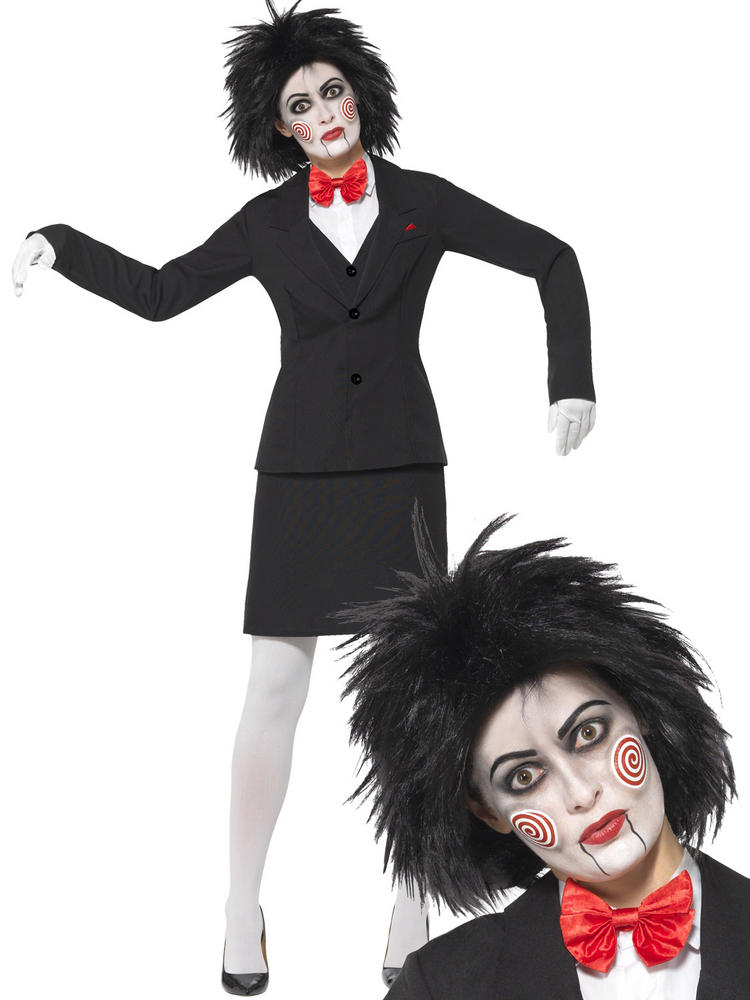 Ladies Saw Jigsaw Costume & / Or Wig