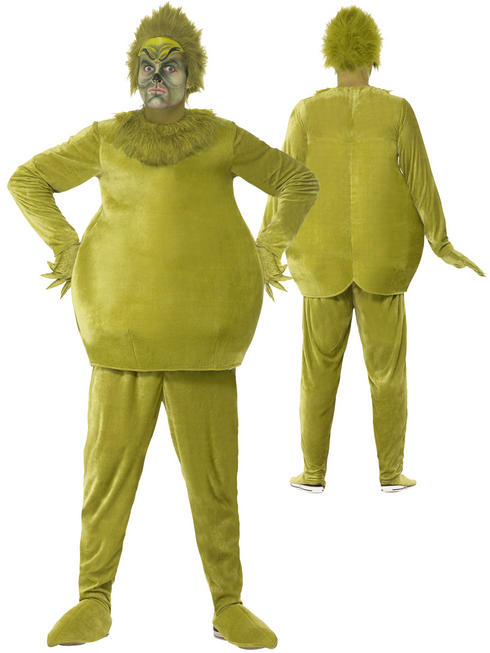 Adults The Grinch Costume