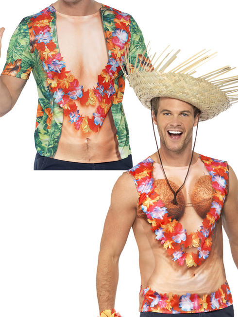 Adults Hawaiian Vest