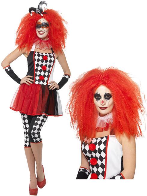 Ladies Twisted Harlequin Costume