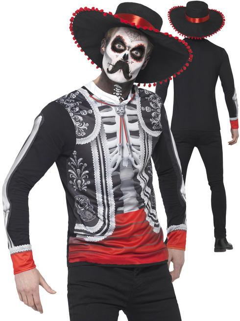 Men's Day of the Dead El Senor Costume
