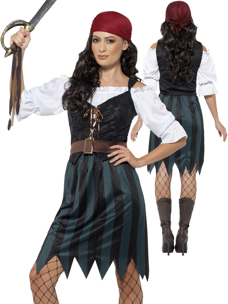 Ladies Pirate Deckhand Costume