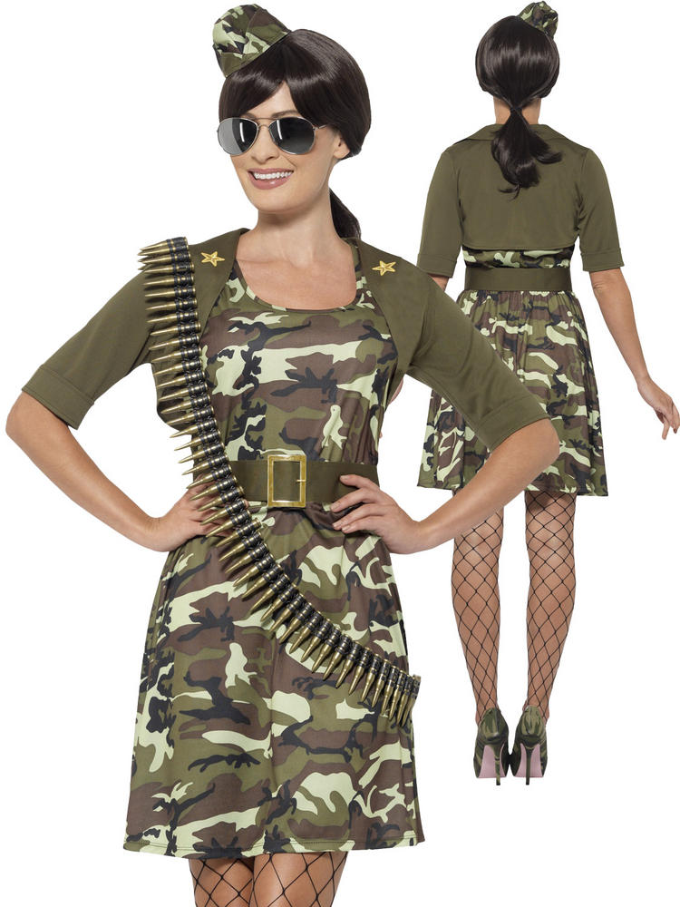 Ladies Combat Cadet Costume