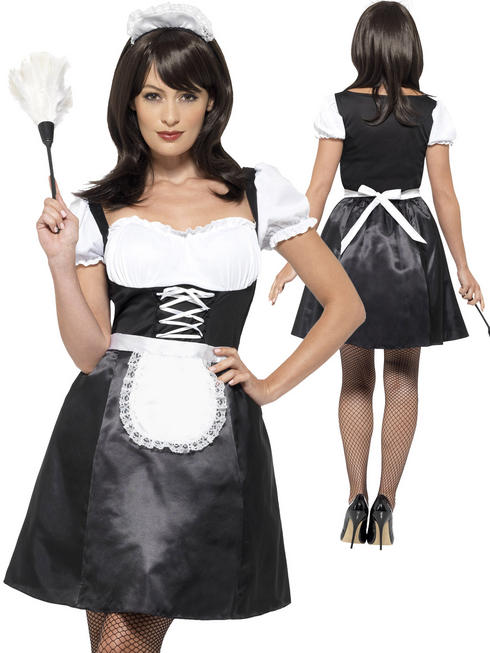 Ladies French Maid Costume