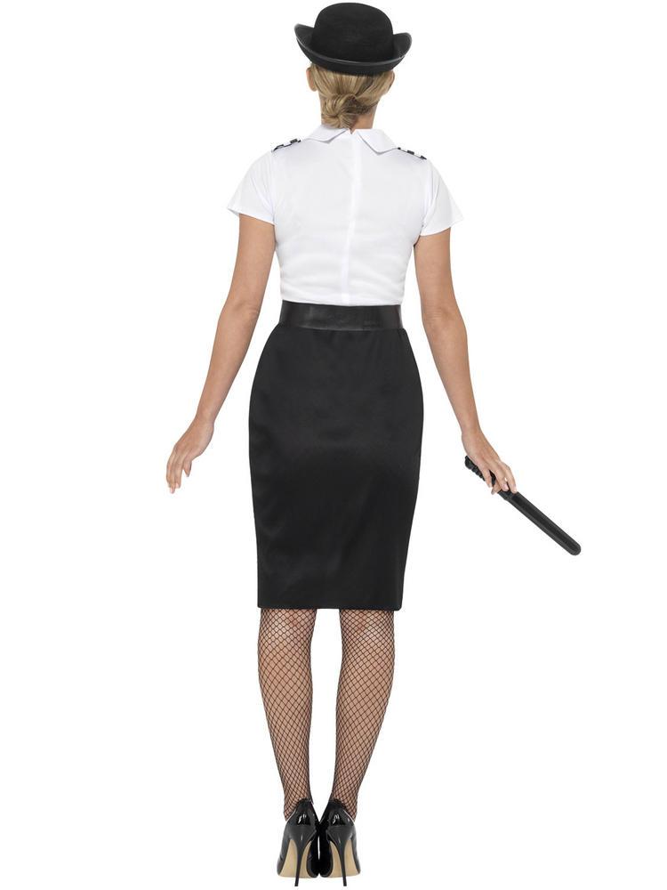 Ladies British Police Lady Costume All Ladies Fancy