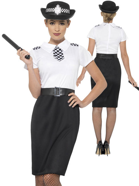 Ladies British Police Lady Costume