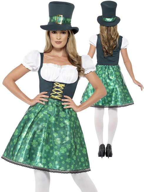 Ladies Leprechaun Lass Costume