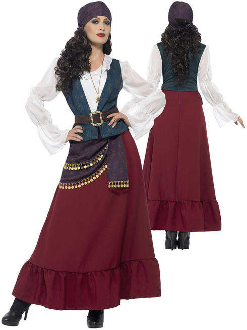 Ladies Pirate Buccaneer Beauty Costume