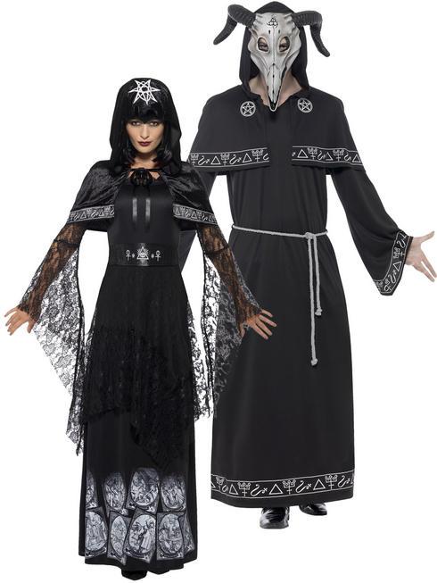 Adults Black Magic Cult Costume