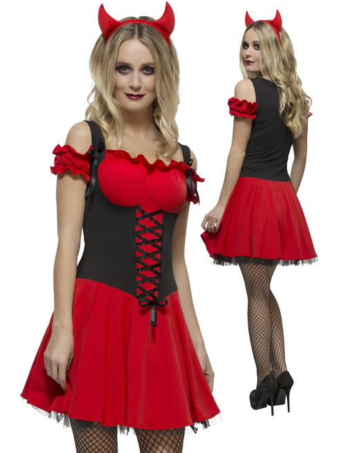 Ladies Fever Wicked Devil Costume