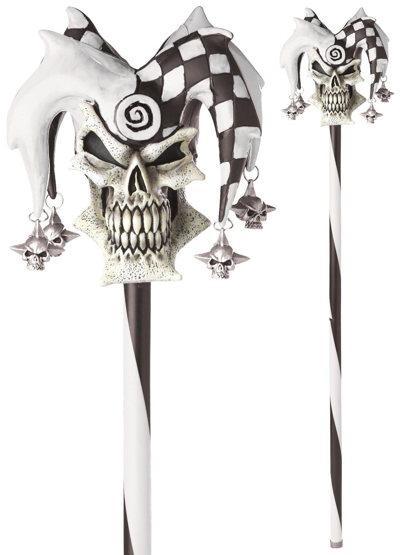 Jester Skull Cane