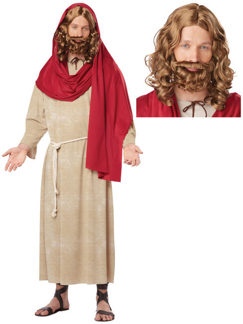 Men's Jesus Costume + Wig