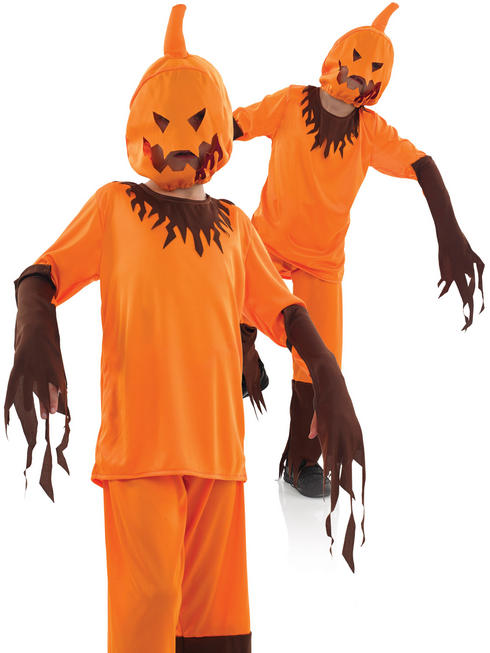 Boy's Scary Pumpkin Costume